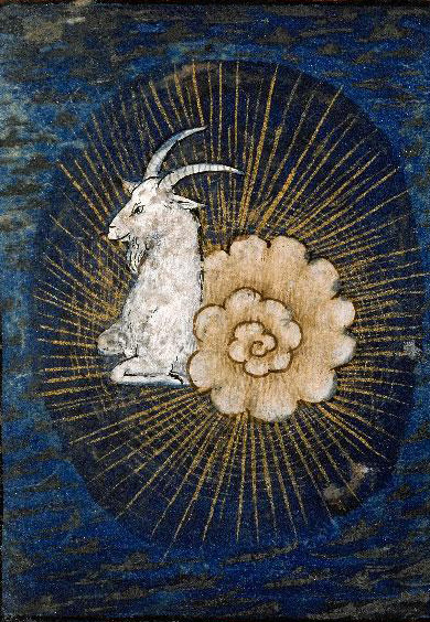 Capricorn from Book of Hours (15th-16th century)
