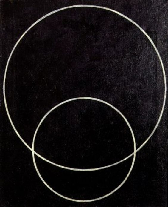 Aleksandr Rodchenko, Two Circles Construction N°127 1920.