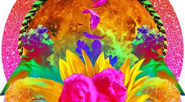 Venus in Leo Collage