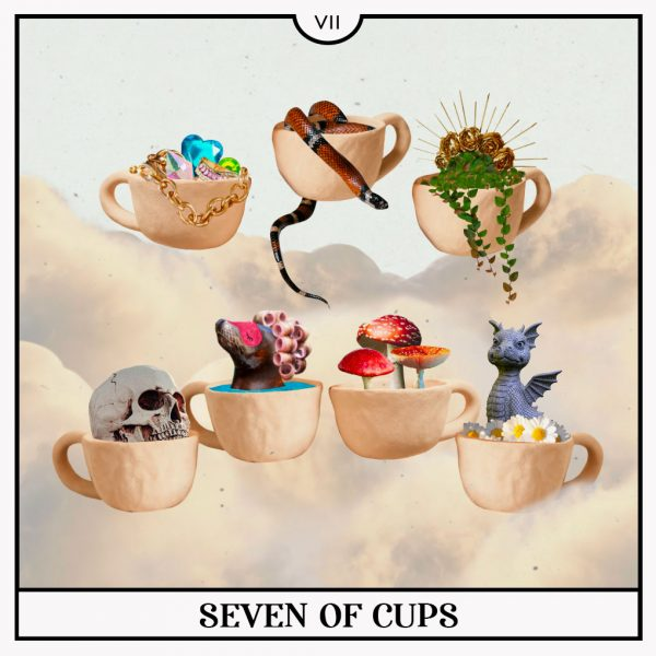 Seven of Cups Tarot Card for Mercury Retrograde and the Week of September 27th