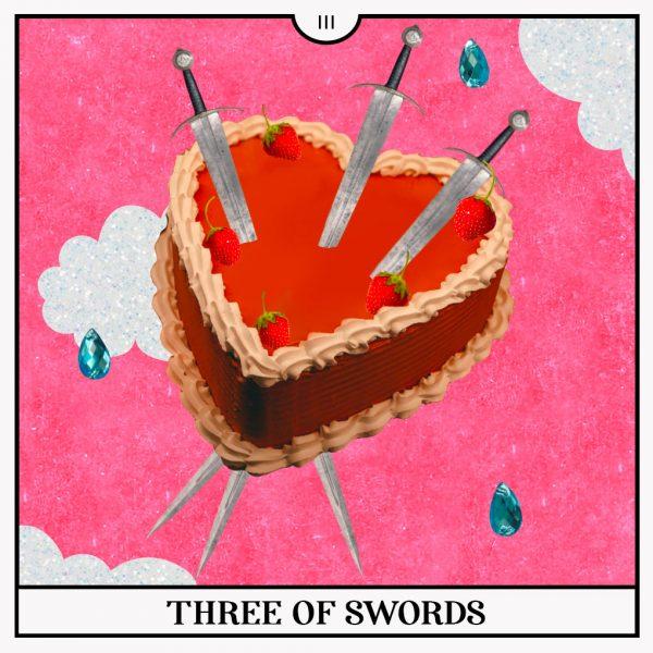 Three of Swords Tarot Card for the New Moon in Libra Horoscopes